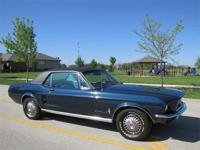 Mustang For 1967 Was Completely Revamped Giving It A
