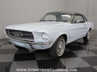 Take this lovely 1967 Mustang coupe for a ride and fall