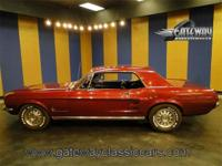 Nice 1967 Ford Mustang updated with a fuel injected