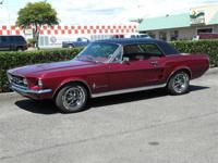 Beautifully Restored One Of A Kind Mustang. Custom