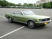 1967. . . .MUSTANG . . .CONVERTIBLE. . . . . LIME OLD
