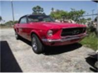 1967 Mustang which was originally a 6 cly from factory