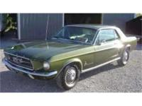 1967 Ford Mustang, coupe with deluxe interior. I have