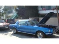 1967 Mustang GT runs and drives great. Big block 390ci,
