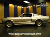 1967 Ford Mustang Fastback GT500E replica. Modeled