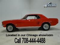 1967 Ford Mustang coupe with 79,559 actual miles!
