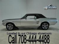 1967 Ford Mustang coupe with a lot of options! Factory