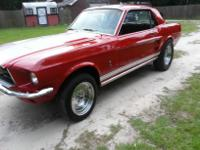 THIS IS A 1967 FORD MUSTANG COUPE. GREAT DEALS OF WORK