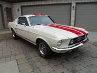 1967 MUSTANG FASTBACK. THIS IS NOT A GTA JUST A CLONE