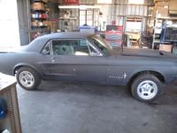 1967 ford mustang project. Original v8 car.Very