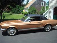 1967 Mustang Convertible Factory stock 289 4 speed,