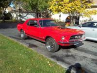 1967 Ford Mustang Coupe ..Restored ..Just About