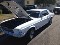 1967 Ford Mustang Coupe This Mustang has less than 200