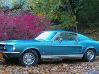 1967 FORD FACTORY MUSTANG FASTBACK 2+2.  -Beautiful