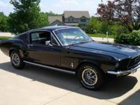 Rare 1967 Mustang Fastback Show car with only 5,800+