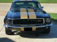 1967 Ford Mustang Fastback Black. 289, 4 BARREL, AT.