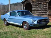 1967 Ford Mustang GTA Fastback   Beautifully restored