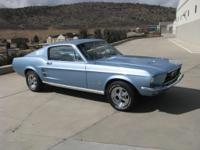 1967 Ford Mustang Fastback 4 Speed 289    289 V8 Power