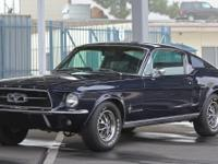 1967 MUSTANG FASTBACK IN GORGEOUS CONDIITON UP FOR