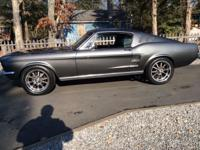 1967 Ford Mustang Fastback, 390 4sp.  9in 350 gears,