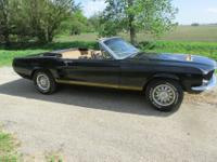 1967 FORD MUSTANG GTA CONVERTIBLE S CODE 390-For a