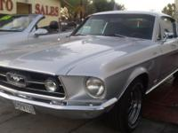 This 1967 Ford Mustang GTA was developed on 09/26/1966