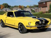 1967 Ford MustangFastback GT350 Tribute History The