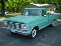 1967 FORD RANGER HALF TON PICKUP, 352 THREE SPEED WITH