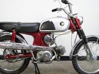 1967 Honda CL90 Scrambler Original!! Here we have an