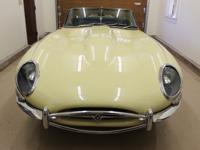 This E type has undergone a mechanical restoration and