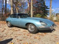 1967 Jaguar E-Type Coupe 4.2L with 48113 Original