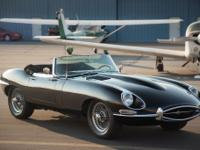 1967 Jaguar XKE Roadster Series 1 Convertible. This is