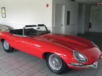 This is a 1967 Jaguar XKE Series 1 4.2 Litre