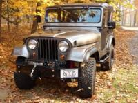 Attention CJ5 Lovers, this is what you have dreamed