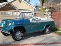 1967 Jeepster Commando. -This Jeepster has original