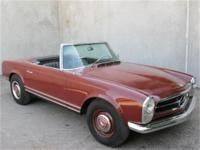 1967 Mercedes Benz 230SL Roadster This is a, 1967