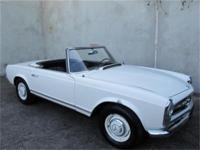 1967 Mercedes Benz 230SL with 2 tops 1967 Mercedes Benz