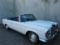 1967 Mercedes Benz 250SE Cabriolet111-023-12-086922