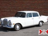 1967 Mercedes-Benz 230. This is a one family owned
