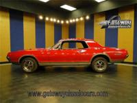 1967 Mercury Cougar GTE clone. Powered by its original
