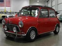 We are pleased to present this 1967 Mini Cooper S for