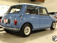 This right hand drive (RHD) Morris Mini 1275 Cooper S
