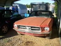 1967 Mustang Coupe project car 302 Automatic Needs