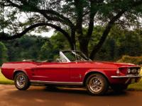 1967 Ford Mustang 289 V8 Convertible! Candyapple Red,