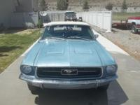 1967 mustang conv 2 owner car 90% original runs and