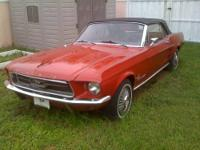 1967 Ford Mustang Convertible 289 V8 / Automatic
