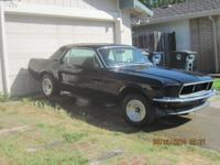 Call John . Offering my 1967 mustang coupe A code car.