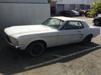 We are Selling a 1967 Mustang for 5500 OBO. We just