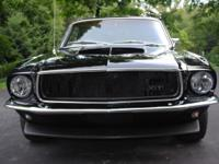 Nicely restored 1967 Mustang coupe: Newly rebuilt