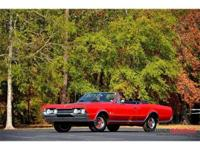 This 1967 Oldsmobile Cutlass Supreme Convertible . It